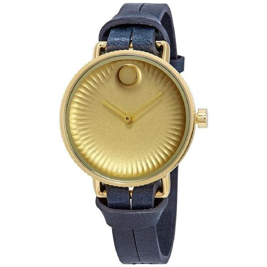 Preload https://img-static.tradesy.com/item/24071207/movado-navy-gold-tone-edge-ladies-leather-watch-0-0-540-540.jpg