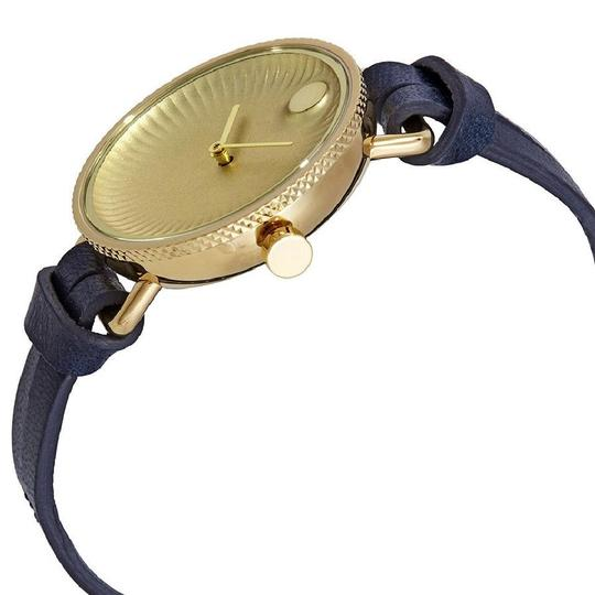 Movado Edge Ladies Leather Watch Image 1
