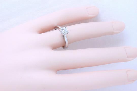 D Si2 Round 0.97 Cts 18k White Gold Engagement Ring Image 5