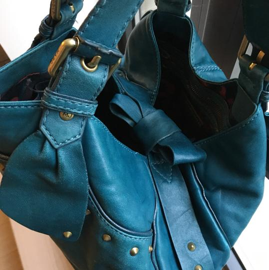 Marc by Marc Jacobs Satchel in Teal Image 4