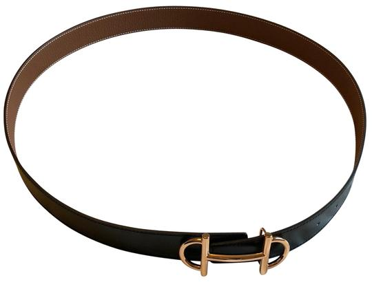 Preload https://img-static.tradesy.com/item/24071585/hermes-black-and-tan-gamma-belt-0-1-540-540.jpg