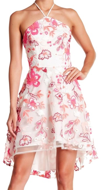 Preload https://img-static.tradesy.com/item/24071637/alexia-admor-pink-embroidered-high-low-short-casual-dress-size-8-m-0-1-650-650.jpg