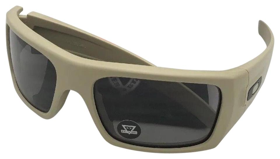 bcc68e5a52 Oakley OAKLEY INDUSTRIAL DET-CORD Safety Glasses OO9253-1661 Desert Tan  +Grey Image ...