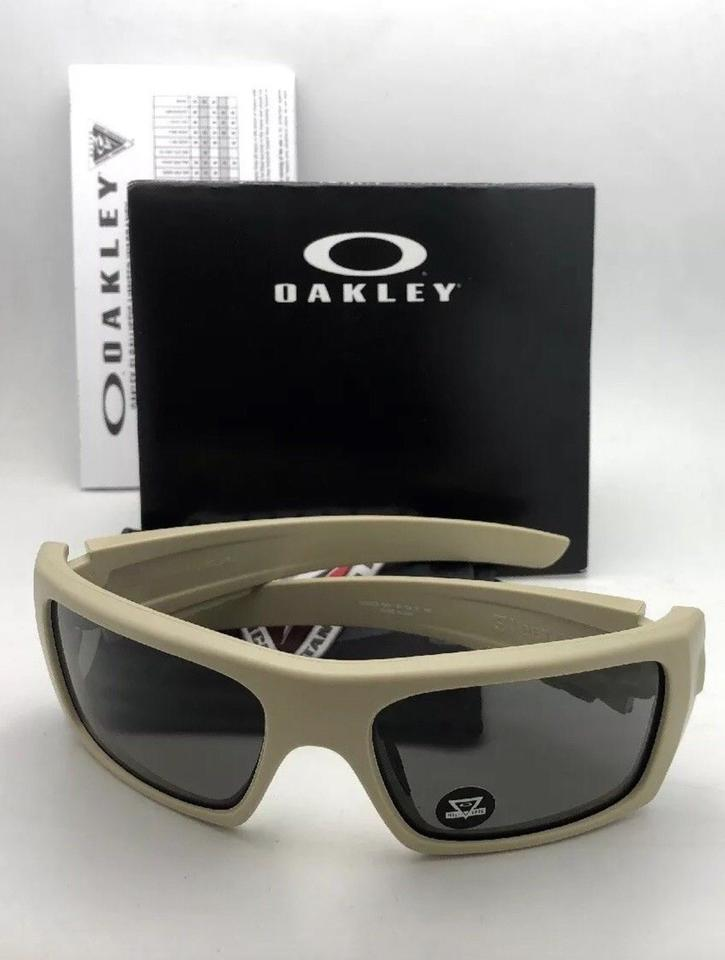9b93422f974a3 Oakley OAKLEY INDUSTRIAL DET-CORD Safety Glasses OO9253-1661 Desert Tan + Grey Image. 123456789101112