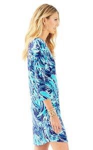 Lilly Pulitzer short dress Blue Navy Crash on Tradesy