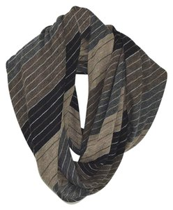 VINCE VINCE STRIPED INFINITY SCARF #127-1