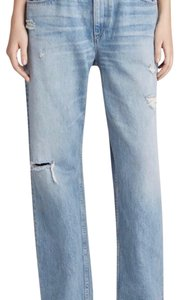 3X1 Relaxed Fit Jeans-Distressed