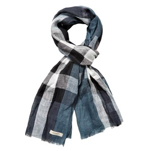Burberry Burberry Giant Exploded Check Linen Scarf