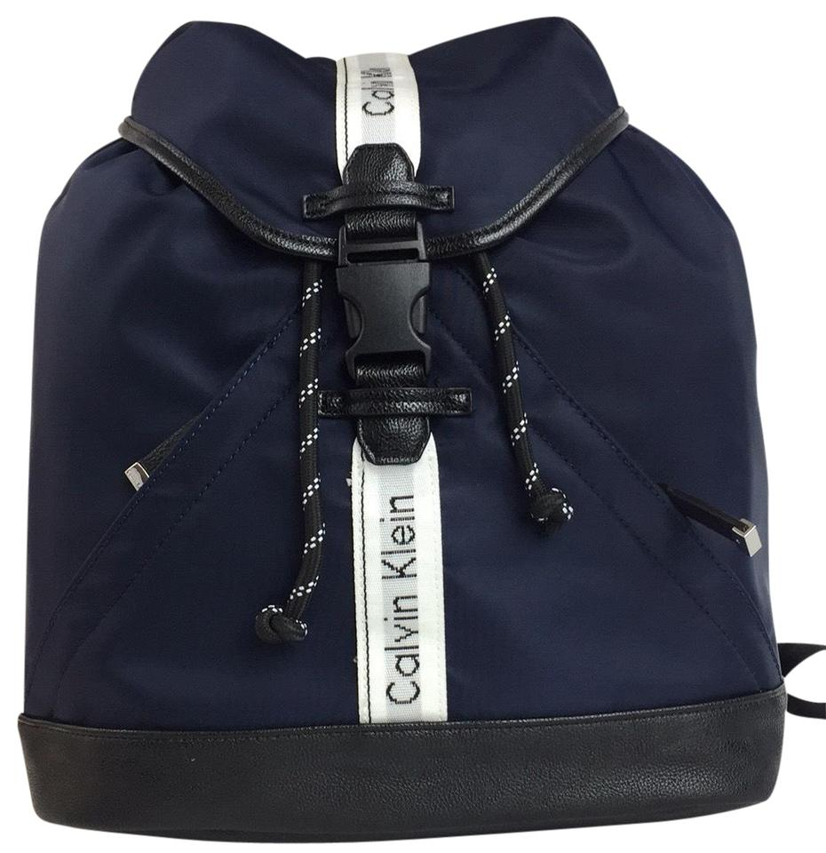 d04ce80d2 Calvin Klein Tote Bag New Fashion Navy Blue Nylon Backpack - Tradesy