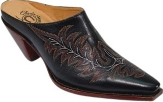 Preload https://item3.tradesy.com/images/charlie-1-horse-by-lucchese-black-wester-mulesslides-size-us-75-regular-m-b-24072-0-0.jpg?width=440&height=440