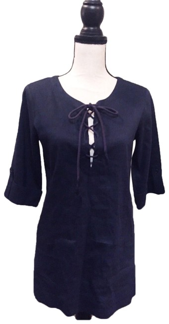 Preload https://img-static.tradesy.com/item/24072004/theory-navy-blue-lace-up-tunic-size-6-s-0-1-650-650.jpg