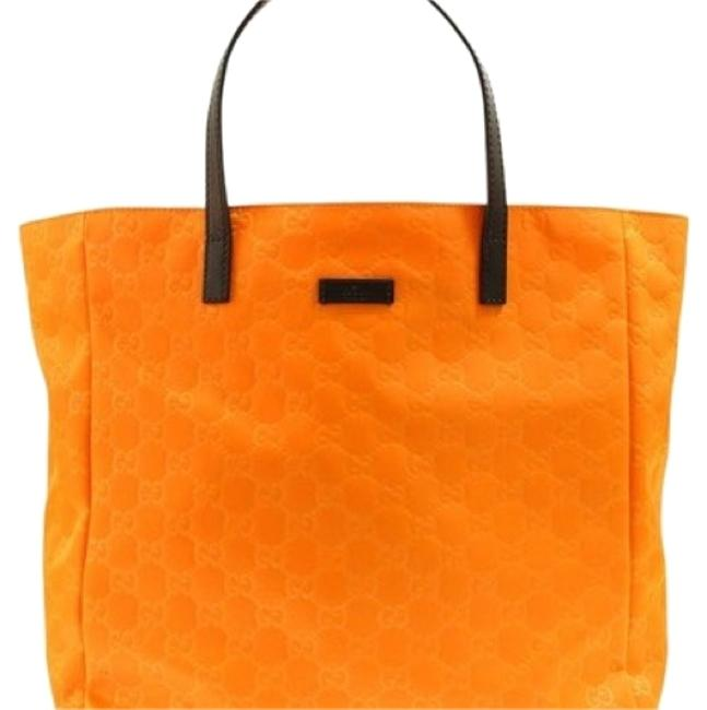 Item - ssima Selleria Medium Orange Nylon Tote