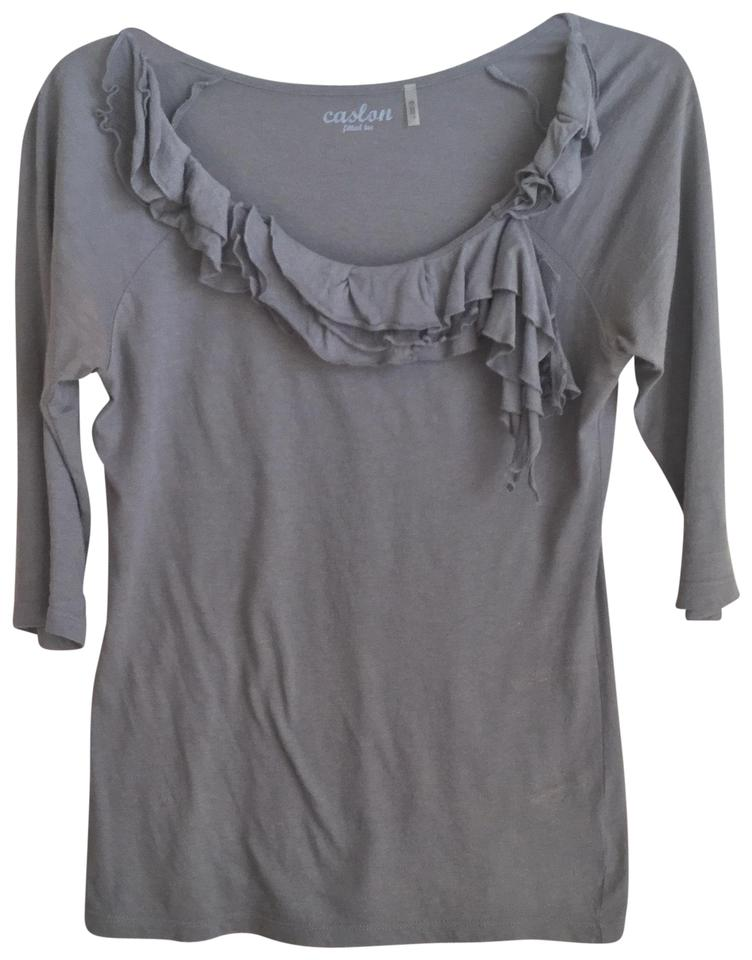 bf77b186963 Caslon Gray Fitted Tee Shirt Size 2 (XS) - Tradesy