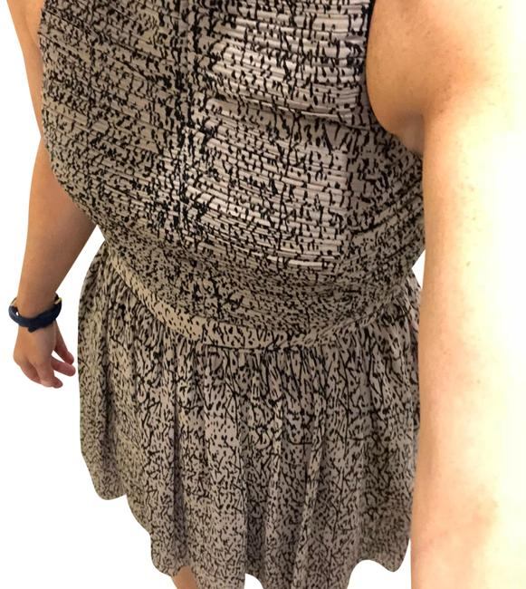 Item - Tan/Black Combo Rn 80734 Ca 31458 Short Cocktail Dress Size 8 (M)