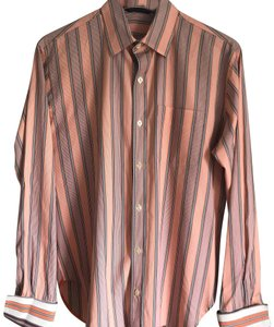 Paul Smith Button Down Shirt multicolor stripe