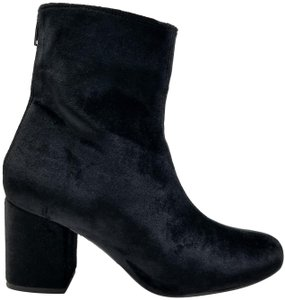 Free People Suede Black Velvet Boots