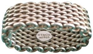 Tiffany & Co. Tiffany Mesh Silver Ring