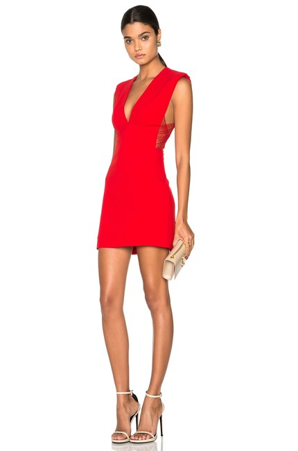 Item - Red Russo Short Cocktail Dress Size 0 (XS)