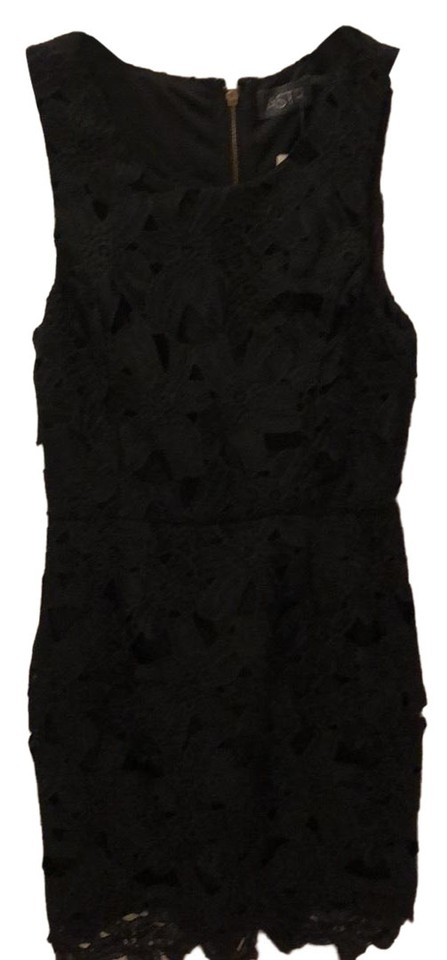 54cae0b25e7 ASTR Black Short Night Out Dress Size 8 (M) - Tradesy