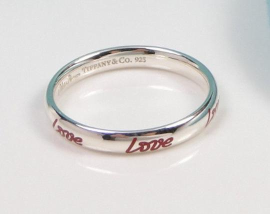 Tiffany Amp Co Paloma Picasso Graffiti Sterling Silver Red
