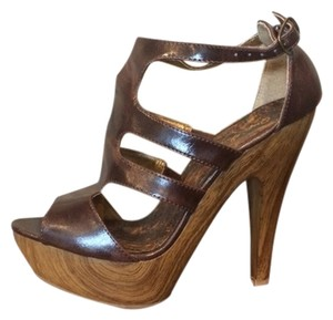 Qupid Brown Platforms