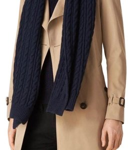 Burberry Burberry Wool Cashmere cable knit scarf
