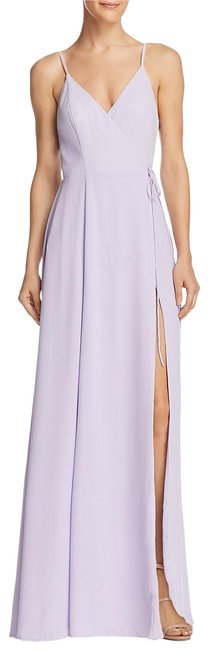 Item - Lilac The Tilbury Wrap Gown - Exclusive Long Formal Dress Size 4 (S)