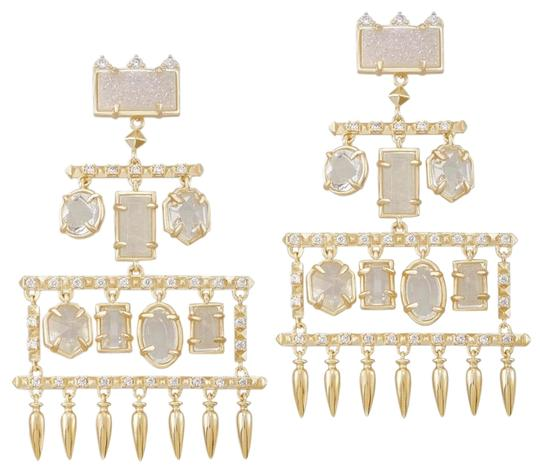 Preload https://img-static.tradesy.com/item/24072583/kendra-scott-white-gold-emmylou-earrings-0-2-540-540.jpg