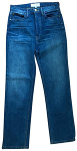 The Great. Straight Leg Jeans-Medium Wash