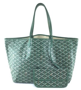 Goyard Neverfull Gucci Hermes Louis Saint Tote in Green