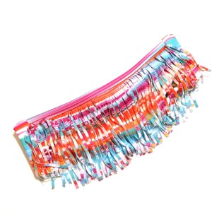 L*Space New Without Tags Dolly Straight Fringe Bandeau Bikini Top