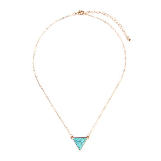 Preload https://img-static.tradesy.com/item/24073059/turquoise-triangle-pendant-necklace-0-0-540-540.jpg
