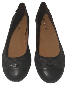 Coach smoke black Flats