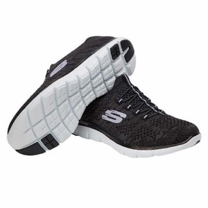 Skechers Black with Lavender Athletic