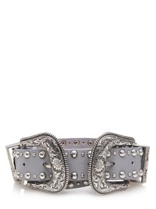B-Low the Belt Stylish Silver belt by B-Low the belt NWT#52211