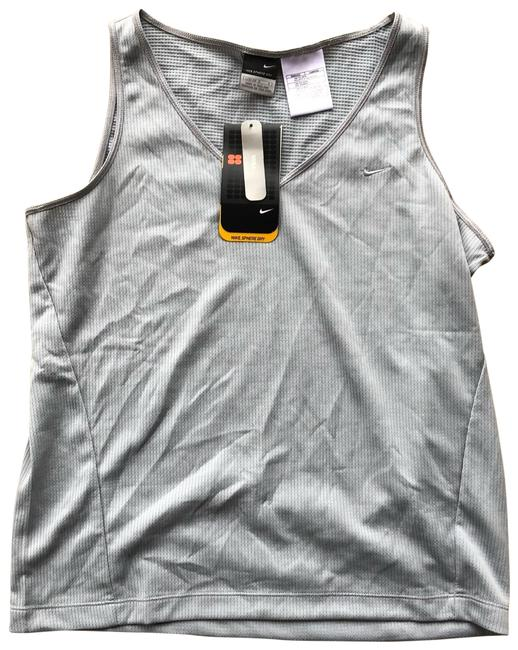 Item - Gray and Silver Sphere Dry Yoga Activewear Top Size 12 (L)