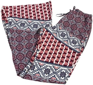 Band of Gypsies Boot Cut Pants Red/Blue