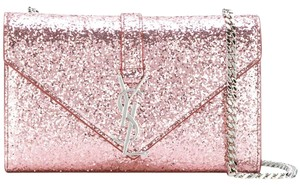 Saint Laurent Glitter Monogram Classic Ysl Shoulder Bag