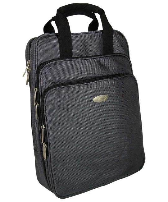 Item - Backpack Durable Computer For - Grey Polyester Fabric Laptop Bag