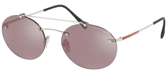 Preload https://img-static.tradesy.com/item/24074301/prada-violet-silver-mirror-and-silver-linea-rossa-round-sps-56ts-1bc214-unisex-sunglasses-0-1-540-540.jpg