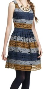 Anthropologie short dress Blue on Tradesy