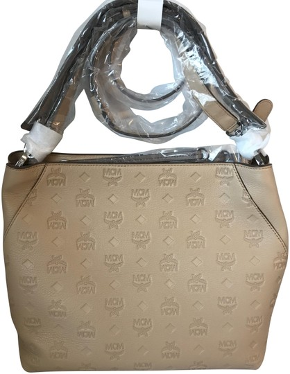 Preload https://img-static.tradesy.com/item/24074469/mcm-new-beige-leather-hobo-bag-0-1-540-540.jpg