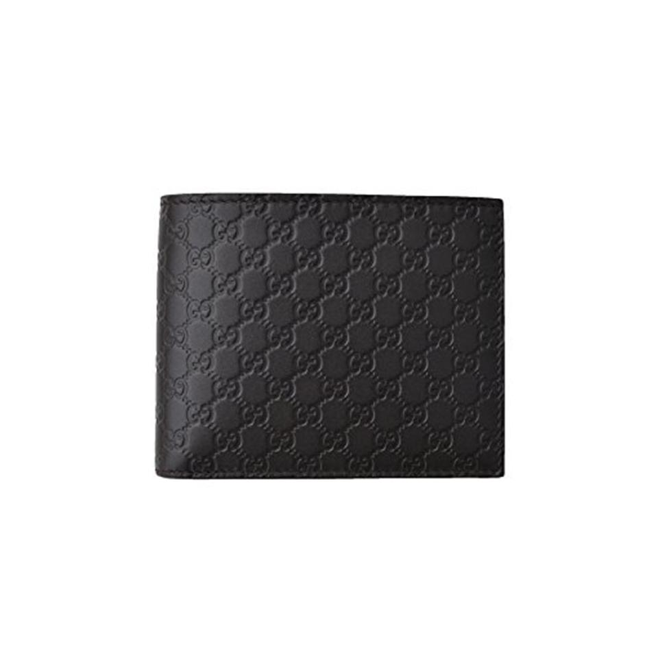 372b61810e2a Gucci Gucci Men s Microguccissima Black Leather Bifold Wallet 260987 Image  0 ...
