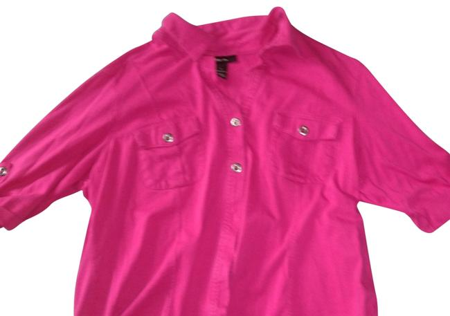 Preload https://img-static.tradesy.com/item/24074622/style-and-co-pink-button-down-blouse-size-12-l-0-2-650-650.jpg