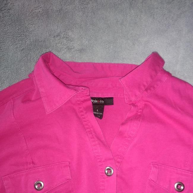 Style & Co Top Pink