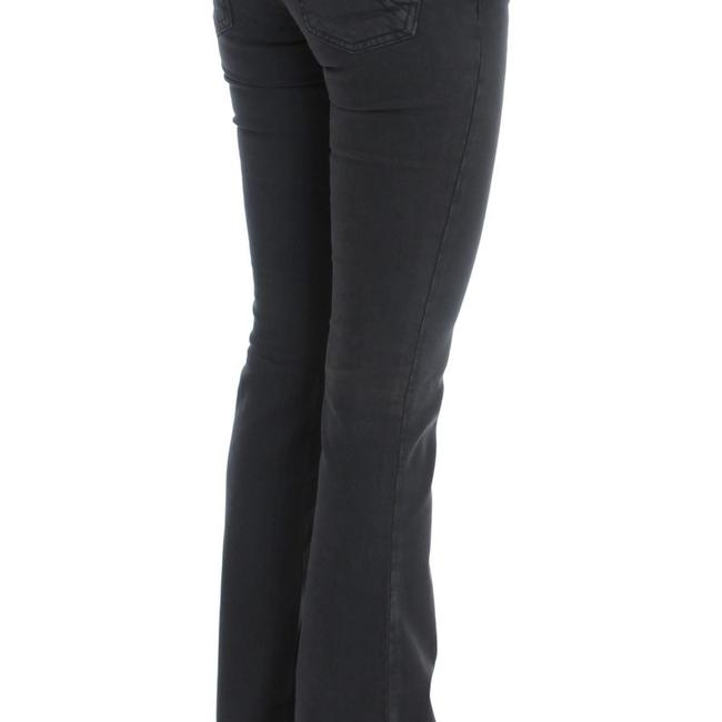 John Galliano D30161-2 Women's Wash Cotton Blend Slim Fit Boot Cut Jeans