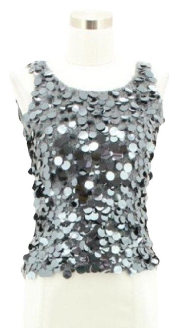 Oscar de la Renta Top Gray