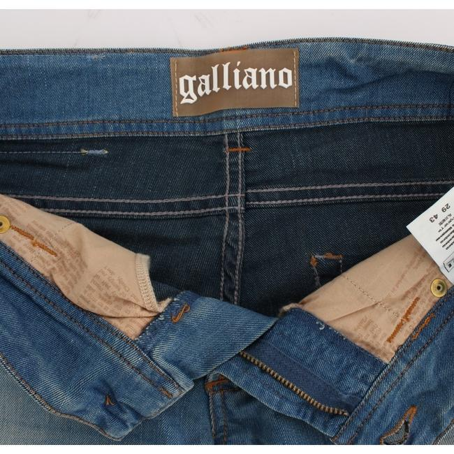 John Galliano D30159-2 Women's Wash Cotton Blend Slim Fit Skinny Jeans