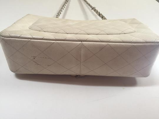 Chanel Quilted Flap Jumbo Double Flap Shoulder Bag