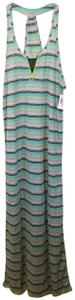 gray Maxi Dress by Trina Turk Swimsuitcover Cover Swimmer Swimming